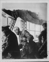 An illustration by Felix Schwormstädt of the pilot cabin on the airship Graf Zeppelin. - 12 October 1920