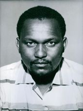 Paul Ngei, President of the African People's Party in Kenya.