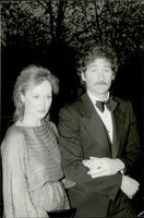 "Actors Meryl Streep and Kevin Kline at the premiere of the movie ""Sophie's Choice"" in Paris"
