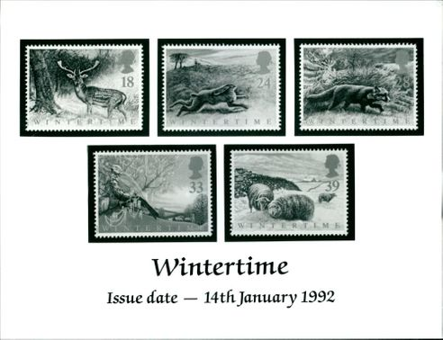 A Special Wintertime Stamps.
