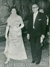 King Gustaf VI Adolf: Kingdoms, reception and bale at the castle