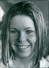 A photo British swimmer Diana Sutherland.