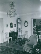 Interiors of a beautiful house. 1935