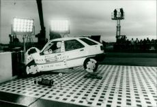 Crash test Citroën ZX