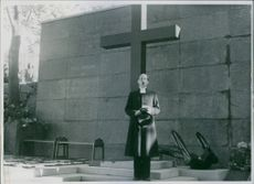 A memorial to the death of Gobska in this world war. Shaman has been rested and inaugurated in Gbg's Special Seamen's Church-Marie Church Cemetery and is invigorated on the image of Shamanist Uno Eklund.