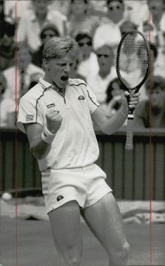 Boris Becker wins Wimbledon 1986