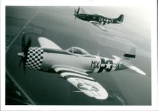 P47 Thunderbolt and P51 Mustang Fighter aircraft