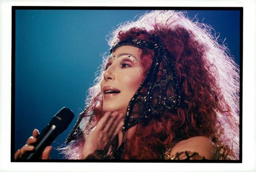 Cher performs at the Omnisports Arena