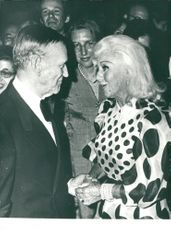Fred Astaire together with Ginger Rogers again at a galaxy in New York