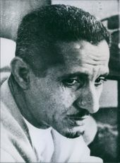 Yemeni Republic leader, Hammoud Al Gaifi, 1967.