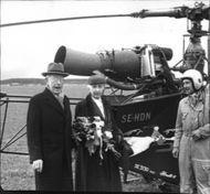 Sweden's first real helicopter