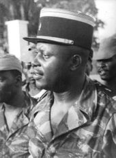 Soldiers of Gabon, Congo.