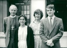 Rt Rev Peter Nott and his family