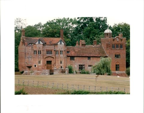 Gedding Hall:suffolk the country home of rock star bill wyman.