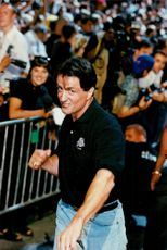 Sylvester Stallone opens the Planet ollywood restaurant in Montreal