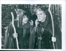 Bette Midler and Kathy Najimy star in Hocus Pocus.