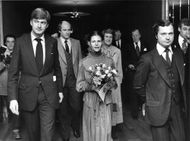 Red Cross gala ceremony in the Stockholm Concert Hall in the King and the Queen's presence