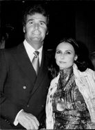 James Garner together with his wife