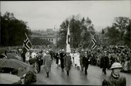 Victory parade in Oslo. 1945.
