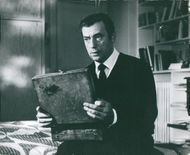 "Yves Montand in the movie ""The war is over"""