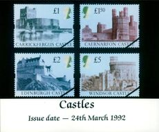 The Castles Stamps.