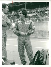 Alain Prost French racing driver.