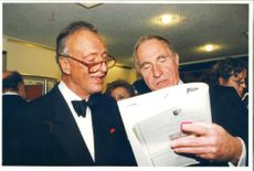 Paul Eddington with nigel hawthorne.