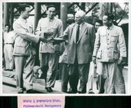 Field Marshal Viscount Montgomery during his state visit in China
