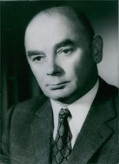 Portrait of Manfred Rotsch, head of messerschmidt Bolkow Blohm's(MBB) department for air and space projects. He is accused of passing on confidential information about the European fighter the 'Tornado' to the Russians.