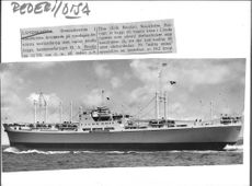 The Ola Bordin Torch Ship, owned by a.b. Disa