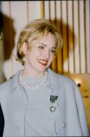 Actress Sharon Stone is awarded a medal from the Arts et Lettres Order in Paris