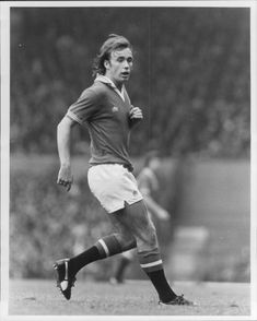Sammy McIlroy, soccer player Man. United