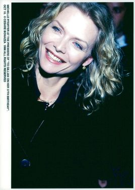 "Michelle Pfeiffer at the premiere of ""Till Gillian on her 37th birthday"""