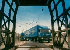 Securicor Omega Express sends over 450 vehicles a week.