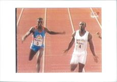 Linford Christie with another player.