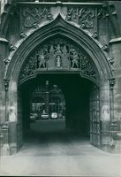 Munch Germany: the arched entrance.