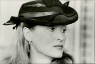 """Actress Meryl Streep in the movie """"At all costs"""""""