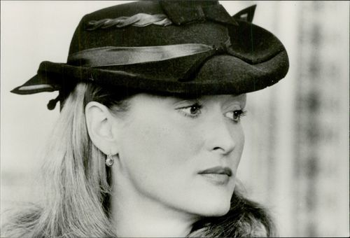 "Actress Meryl Streep in the movie ""At all costs"""