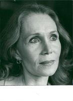 Portrait of American actress Katherine Helmond from the TV series Soap.