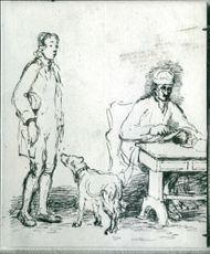 Works by Sir David Wilkie: The Letter of Introduction.