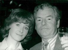 Kenneth More together with his wife Angela Douglas