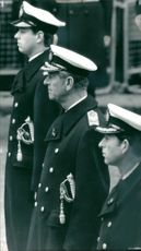 Prince Andrew, Duke of York with the Prince of Wales
