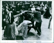 A wedding scene in the film, Fiddler on the Roof.
