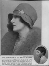 Princess Patricia of Connaught and her son Alexander