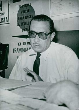 Portrait of Andrés Framini.