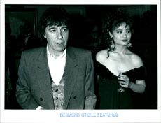 Bill Wyman and Monica Chong.