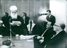 Levi Eshkol announced that the Druse community were to receive full political  status and will receive the same treatment as Jewish citizens, 1987.