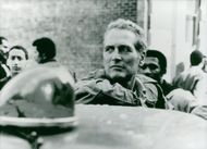 "Actor Paul Newman in the movie ""In the Shadow of the Bronx"""