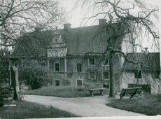 Bishop's farm in Strängnäs in 1933.