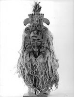 Mask from Senegal.